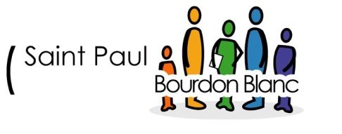 Saint Paul Bourdon Blanc logo